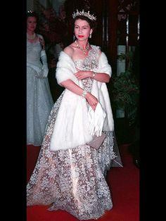 queen elizabeth 1950s fashion - Google Search