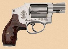 Smith and Wesson 642 lady smith.LadySmith™ You can't build an effective and correct handgun without first knowing and talking to the actual shooter. That has always been a Smith & Wesson trademark…we listen. Smith & Wesson, the first and most respected manufacturer for womens' handguns has designed LadySmith™ small frame revolvers because we believe that women should have the power to defend themselves…and that power is best found in a Smith & Wesson. - See more at…