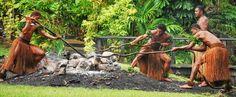 Fire Walking In Fiji - on White Hot Rocks. Not Tony Robbins Coals!
