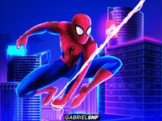 Peter Parker from the new spiderman animation movie! Spectacular Spider Man, Amazing Spider, Marvel Vs, Marvel Comics, The New Spiderman, Animated Spider, Marvel Wallpaper, Spider Verse, Avengers