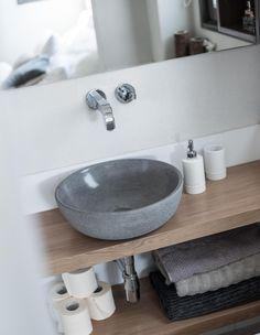 plan de travail de salle de bain en teck massif 180 cm, suspendu ... - Plan De Travail Salle De Bains
