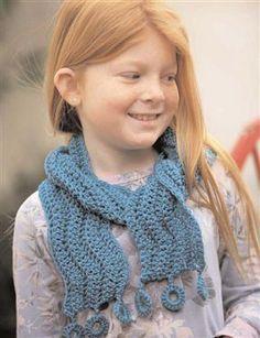 Float Away Scarf By Kim Werker - Free Crochet Pattern With Website Registration - (crochetme)