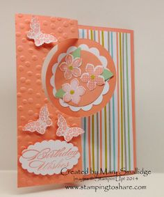 Stamping to Share: March Stamping to Share Swaps Part Two