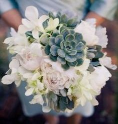Natural and organic are becoming increasingly trendy, especially when it comes to weddings and events. Bouquets are a great way to incorporate these trends by using succulents, lavender, pine cones and more.