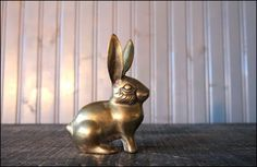 Brass Animal Figurines: Vintage Style | Apartment Therapy