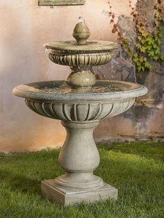 Longvue Fountain - Garden Fountains & Outdoor Decor