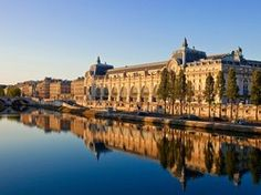 The grandeur of a former railway station, the banks of the Seine, and Van Gogh's Starry Night.