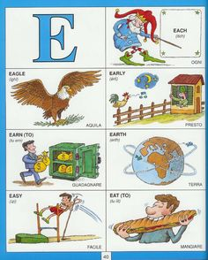 Learn the itailian language