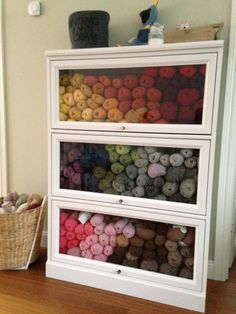 My yarn storage