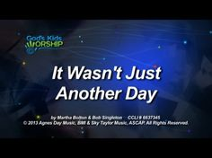 A new, easy-to-sing, modern Christmas song, It Wasn't Just Another Day, is designed to stick with kids beyond the walls of the church. Great for worship or performance.