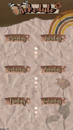 Weekly Planner Template, Schedule Templates, Bullet Journal Lettering Ideas, Bullet Journal Writing, Aesthetic Pastel Wallpaper, Aesthetic Wallpapers, School Timetable, Schedule Design, Instagram Frame Template