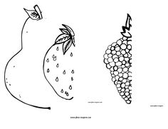 Paper work for kids (you can draw fruits).