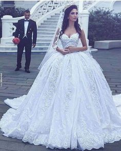 Cheap robe de mariage, Buy Quality gown wedding directly from China vestidos de novia Suppliers: Vestidos De Novia Custom Made Off the Shoulder Ball Gown Wedding Dresses Plus Size Lace Cheap Wedding Gowns 2017 Robe de mariage Dream Wedding Dresses, Bridal Dresses, Beaded Dresses, Princess Wedding Gowns, Ball Gown Wedding Dresses, Weeding Dress, Homecoming Dresses, Bridesmaid Dresses, Ball Dresses