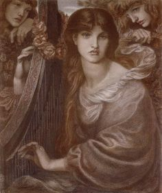 Romanticism — The Garland, 1873, Dante Gabriel RossettiSize:...