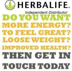 Herbalife call me or text me at 813-484-5587 or email me at tbarket.blackberry@outlook.com if your interested.
