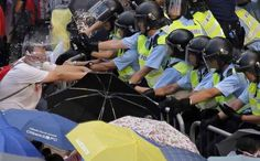 """Beijing has also warned other countries not to support the """"illegal rallies"""", and will hope the movement does not embolden anti-government protests elsewhere in China.   33 Extraordinary Pictures Of Hong Kong's """"Umbrella Revolution"""""""