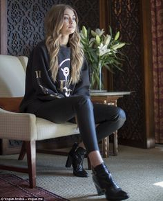 Model of the moment: Gigi recently sat with Vogue Arabia for a video exclusive interview, ...