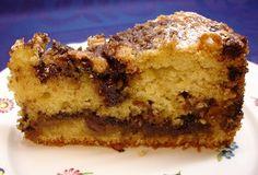 Schokoladen-Pecan-Streuselkuchen