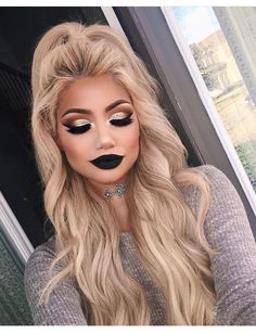 Premium Beauty Makeup Blender Lipstick Design Cosmetic Sponge with Handle for Liquid Cream Foundation Concealer Under-eye Highlighting & Contouring Rose Red - Cute Makeup Guide Prom Makeup, Cute Makeup, Gorgeous Makeup, Pretty Makeup, Makeup Set, Dark Makeup Looks, Amazing Makeup, Dark Eye Makeup, Glam Makeup Look