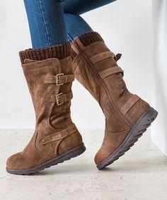 Love this Brown Nora Boot on #zulily! #zulilyfinds