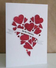 Image result for handmade valentine day cards for men