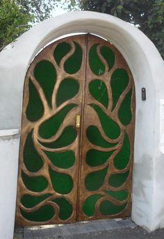 My entrance gates.