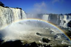 Iguazu Falls, between Brazil and Argentina | 26 Breathtaking Places In Latin America You Should Visit Before You Die