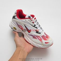 Supreme x Nike Zoom Streak Spectrum Plus  Habanero Red  AQ1279-100 Off White 89efab36f