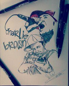Desenho finalizado CHARLIE BROWN