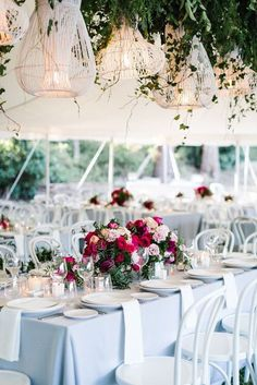 Hanging Wedding Decor by The Style Co