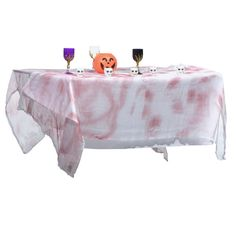NAPPE SANGLANTE INTISSEE 100% POLYESTER - 213CMX152CM