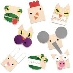 New! Animal World. Create fun animals with thi fun wooden set