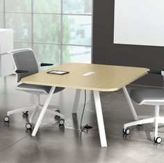 Upgrade Your Workspace Miros Crisp Lines And Elevated Design - Conference table power center