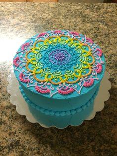 Mandala cake design!!!