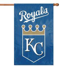 Kansas City Royals MLB Applique Banner Flag (44x28)
