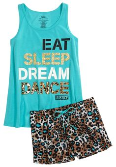 Cheetah Dance Pajama Set