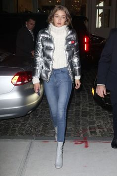 12 winter outfit ideas to help you keep warm while also looking chic: Gigi Hadid
