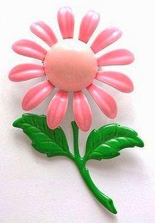 Vintage Flower Enamel Pin | Flickr - Photo Sharing!