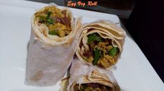 Egg Veg Roll For Kids Lunch Box -quick easy roll with scrambled egg, mild spices and veggies rolled in any flat bread like chapati, nan, pita bread, tortillas etc. Healthy breakfast and excellent to pack for kids lunch box. The egg is scrambled with bit salt and pepper powder . This is mixed with sauteed […]