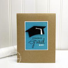 Paper Smooches: Grad Cap Die