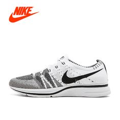 Original New Arrival Official Nike Flyknit Trainer Men s Breathable Running  Shoes Sports Sneakers  Nike free 379d06046