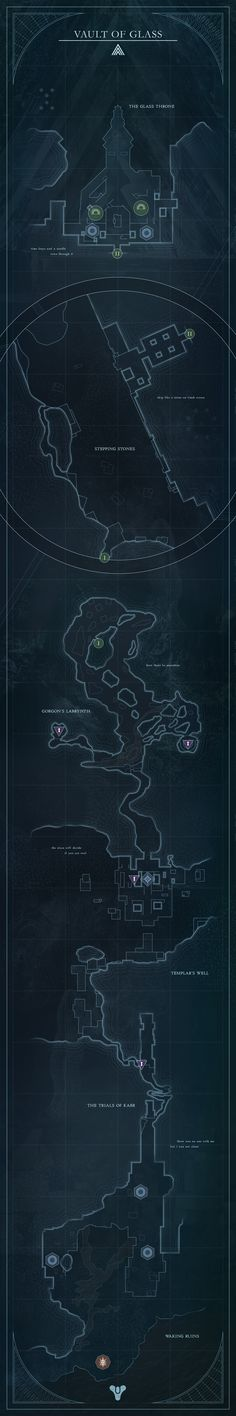 Vault of Glass Map