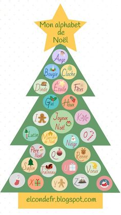 French Christmas Songs, Noel Christmas, Learning French For Kids, Teaching French, Alphabet, School Board Decoration, French Course, Christmas In Europe, Core French