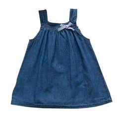 Baby Jeans Dress t - Tiny Cupids