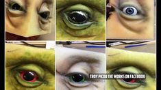 How to carve an eye from Polyfoam