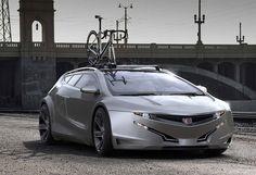 Honda Sportwagon concept by Psychoform