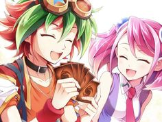Yuya and Yuzu