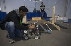 Students from Central Florida high schools participating in the FIRST® program showcased their FTC robots