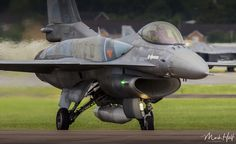 https://flic.kr/p/CGUsB3 | 504 | 11th July 2015 - Lockheed Martin F-16C '504' of the Hellenic Airforce turns onto the active ready to depart the Royal International Air Tattoo.