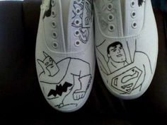 How to Draw On Canvas Shoes (even if you're not an artist)